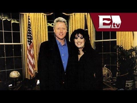 Relevan reacción de Hillary ante infidelidad de Bill con Monica Lewinsky/ Global Paola Barquet