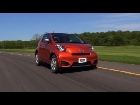 Scion iQ review from Consumer Reports