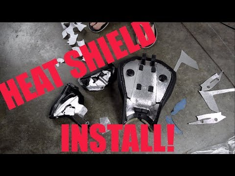 Ducati Panigale Heat Shield STEP by STEP installation!