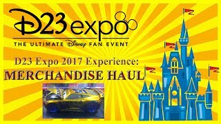 D23 Expo 2017 Experience: Merchandise Exclusives & Toy Haul - Limited Editions!