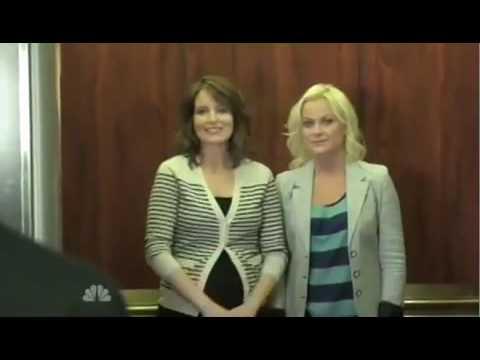Amy Poehler and Tina Fey Jersey Shore Parody