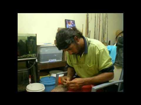 Kima 39 s diy cast net repair youtube for Diy cast net