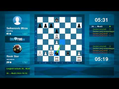 Chess Game Analysis: Rook Ster Salkanovic Mirza : 10 (By ChessFriends.com)