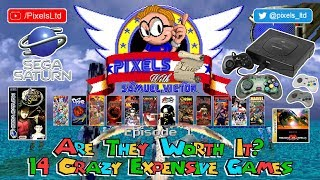 Pixels Lists #01: 14 Crazy Expensive Sega Saturn Games! Are They Worth It? (Ft Panzer Dragoon Saga!)