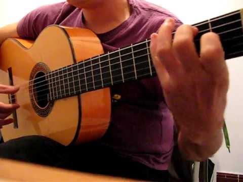 Oscar Herrero estudio Nº1 Pulgar. Farruca