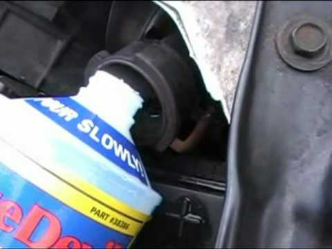 BlueDevil Head Gasket Sealant Seals Huge Leak