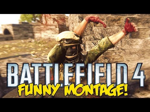 Battlefield 4 Naval Strike Funny Montage! - Quickscoped MEGALODON , The Bird Man (BF4 funny moments)