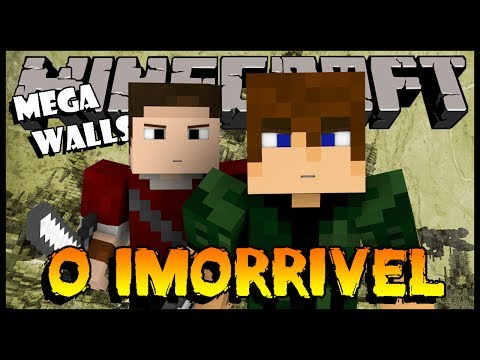 O Imorrivel! - Mega-Walls Ft. Felps (Minecraft Mini-Games)