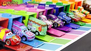 Learning Color special Disney Pixar Cars Lightning McQueen mack truck parking play for kids car toys