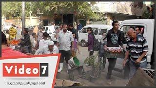 """رئيس حي جنوب الجيزة: """"الباعة الجائلون بالمنيب خدوا الشارع وهنرجعه تاني"""""""