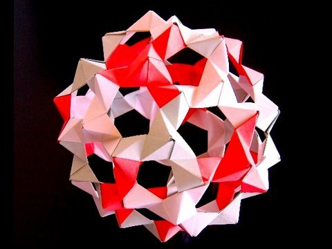How to make Origami Buckyballs from PHiZZ units