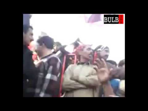 Shoukat Raza Shoukat In Multan Dharna 17th Feb 2013 video