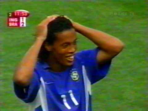 [please rate and comment] - melhores momentos do grande jogo da Seleção Brasileira no Torneio, vitória de virada em cima dos Ingleses pelas quartas de final da Copa 2002. Gol antológico...