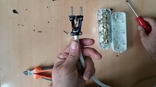 Grup priz, uzatma kablosu nasıl yapılır? Fiş Nasıl Bağlanır?