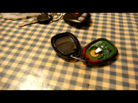Kitchen Table Electronics Repair: 2005 Chevy Malibu Key Fob