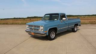 1987 Chevrolet C10 Silverado For Sale