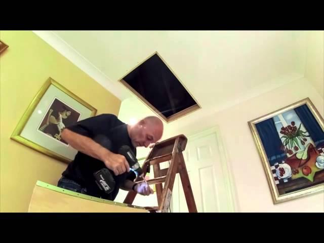 Ramsay Loft Ladders Installation Demonstration