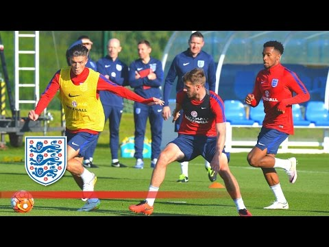 England U21 in Training for 2016 Toulon Tournament | Inside Training