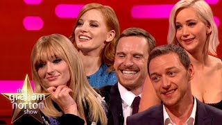 Download Song Graham Norton Takes On The Cast Of X-Men Dark Phoenix! | The Graham Norton Show Free StafaMp3