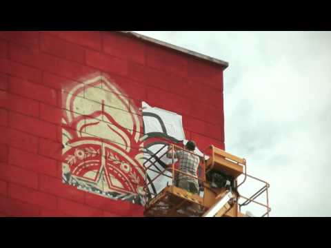 SHEPARD FAIREY OBEY // Rise Above Rebel // Paris - juin 2012