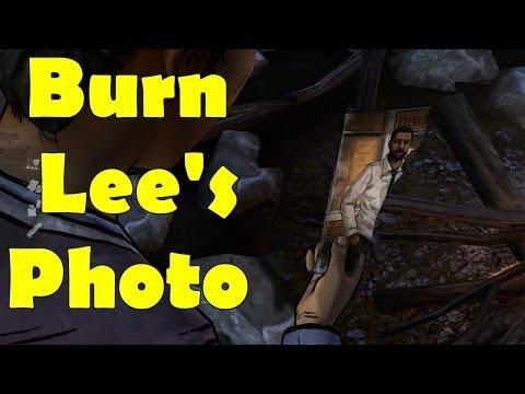 The Walking Dead Season 2 Episode 1 Burn Lee's Photo