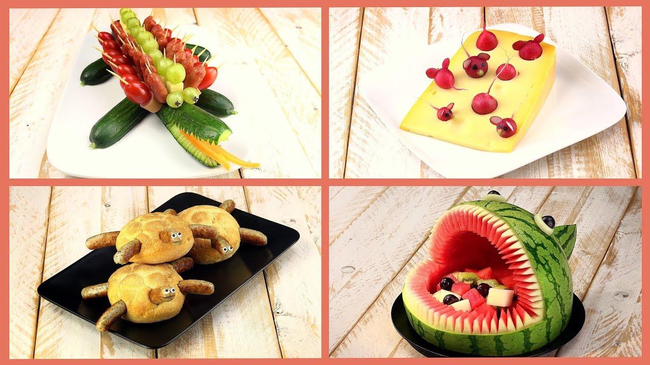 Овощи как из них сделать украшение стола