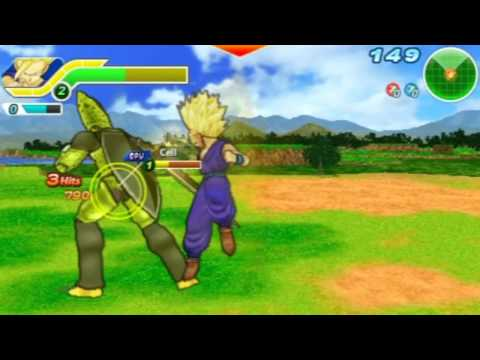 Dragon Ball Z: Tenkaichi Tag Team- Gohan Vs. Cell video