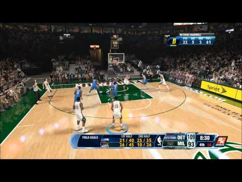 IMPOSSIBLE EXPECTATIONS - NBA 2K14 (PS4) - Octavio Chadwell - My Career - Pistons vs. Bucks
