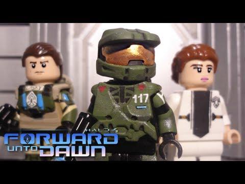 LEGO Halo 4 Forward Unto Dawn : Master Chief. Lasky. & Silva - Showcase