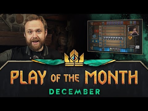 GWENT: THE WITCHER CARD GAME | Play of the Month (December 2017)