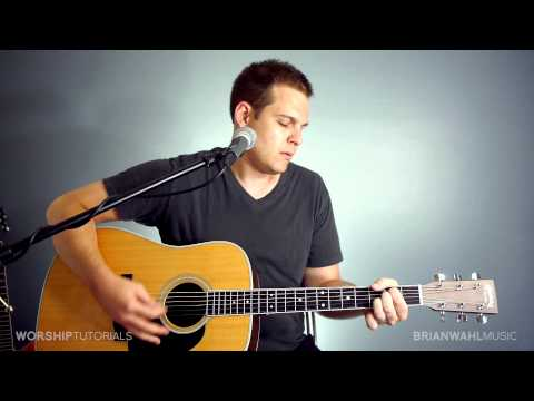 You're Beautiful (phil Wickham) Acoustic Cover By Brian Wahl video