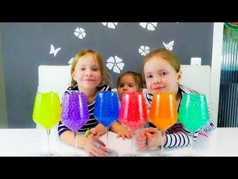 Ищем сюрпризы игрушки в разноцветных шариках Орбиз ORBEEZ Challenge surprise toys unboxing