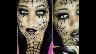 Dramatic Spider Web Makeup Tutorial