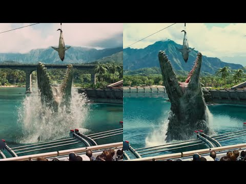 New Jurassic World Trailer Shows Already Improved CGI