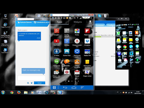 TeamViewer - Controlar Remotamente tela do Celular/PC