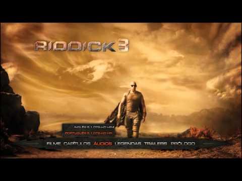 Riddick 2013 Blu ray Menu Preview Brazil Released thumbnail