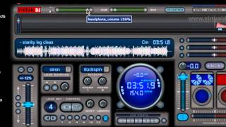 How to setup and use headphones Virtual DJ7