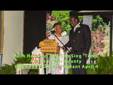 "Ruth Houston and son Michael sing ""Trees"""