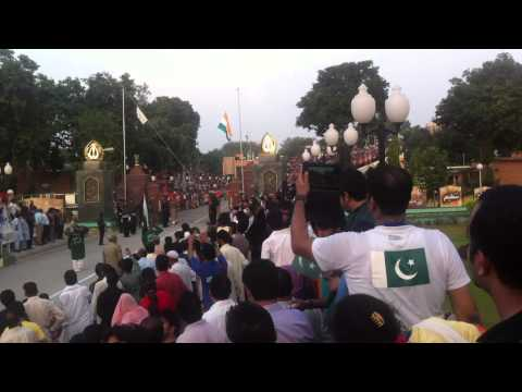 Full Ceremony Pakistan Side Border, Wagha Border, Parade India Pakistan Flag By Zahid Part 2 video