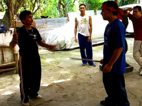 Nickelstick Balintawak Eskrima Training GM Nick's Locks and Disarms, feat JV.AVI Image 1