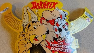 2015 Asterix & Obelix Maxi Surprise Egg Explosion + Toy set 2 Unpacking Huevos Sorpresa