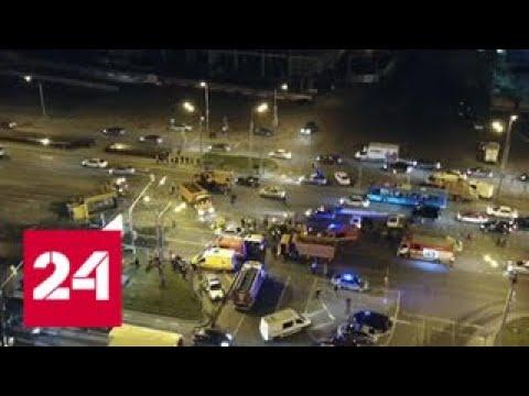 Грузовик, устроивший ДТП на Рязанском шоссе, был почти новый - Россия 24