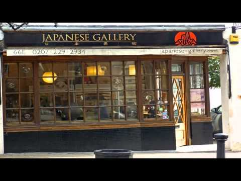 japanese gallery, kensington Kensington London
