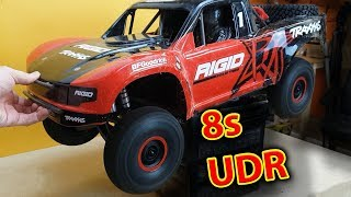Making My Traxxas UDR 8s and installing XT90 Connectors