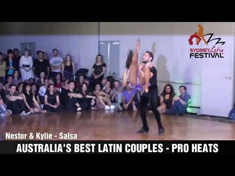 AUSTRALIA'S BEST LATIN COUPLES - NESTOR & KYLIE