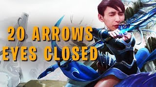 20 ARROWS EYES CLOSED (SingSing Dota 2 Highlights #1253)