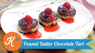 Resep Peanut Butter Chocolate Tart | SAVIRA PRADIATI