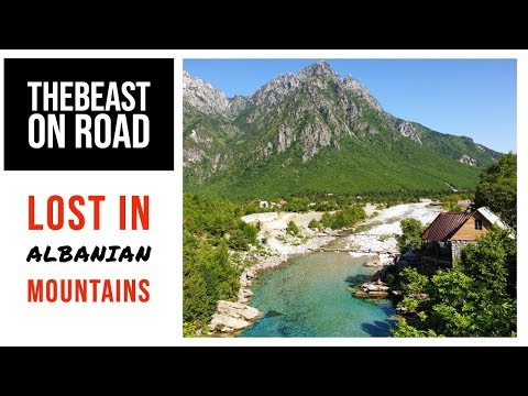 TheBeast on Road - Lost in Albanian mountains