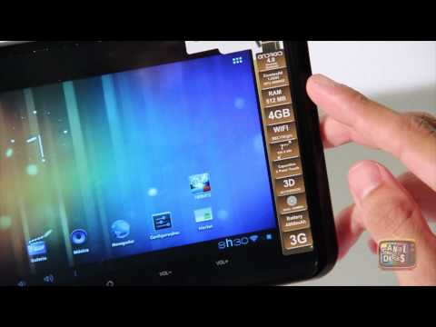 Review Tablet GENESIS GT-7200 em Português Brasil - #Basico