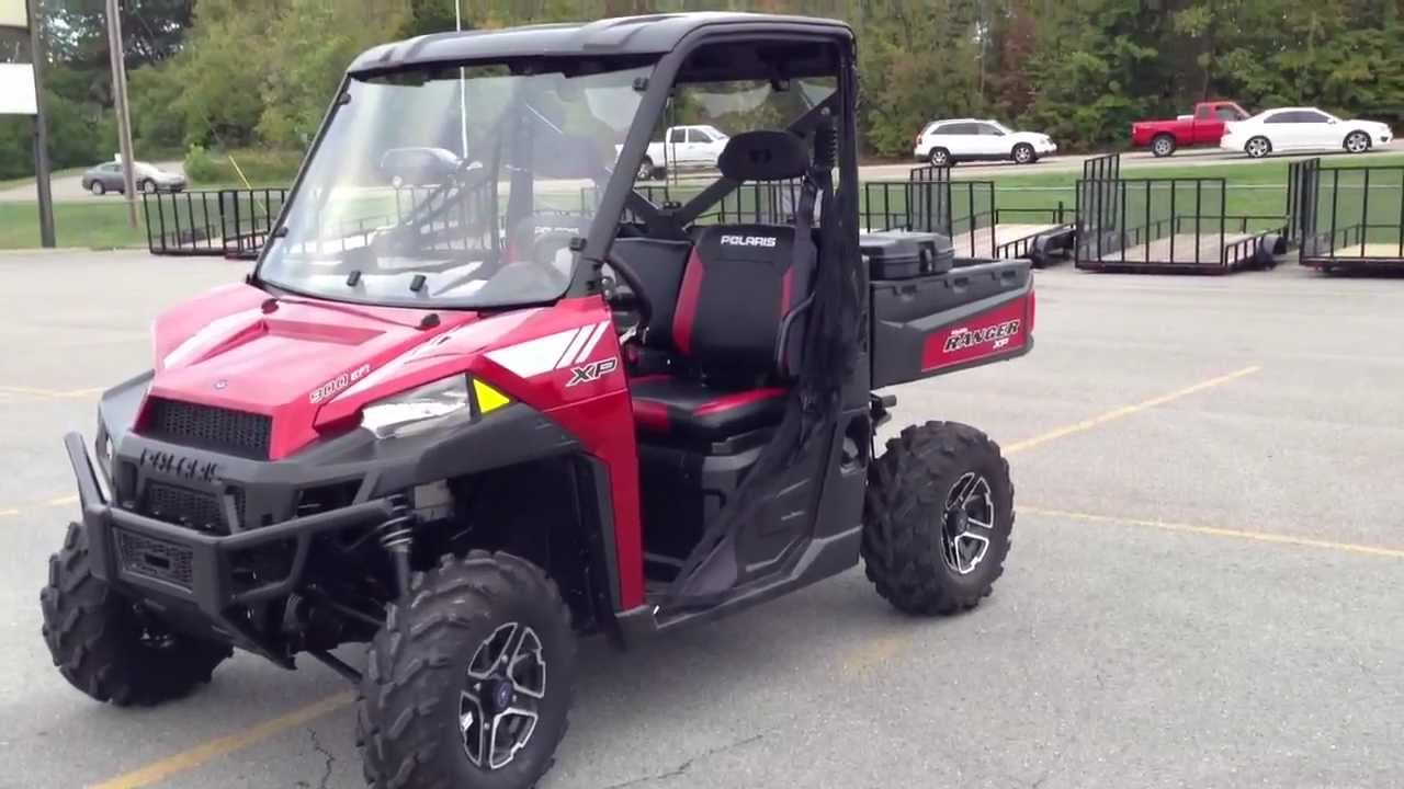 2013 Polaris Ranger Xp 900 With Eps Le In Sunset Red With